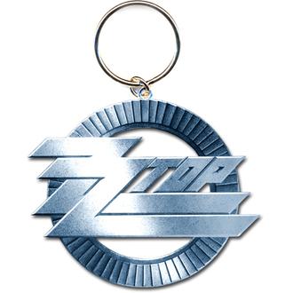 ključ prstan - obesek ZZ Na vrh (Krog Logo) - ROCK OFF, ROCK OFF, ZZ-Top