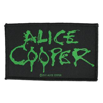 Našitek ALICE COOPER - LOGO - RAZAMATAZ, RAZAMATAZ, Alice Cooper
