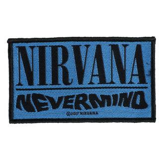 Našitek NIRVANA - NEVERMIND - RAZAMATAZ, RAZAMATAZ, Nirvana