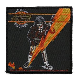 Našitek AC / DC - HIGH VOLTAGE - RAZAMATAZ, RAZAMATAZ, AC-DC