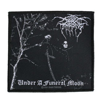 Našitek DARKTHRONE - UNDER A FUNERAL MOON - RAZAMATAZ, RAZAMATAZ, Darkthrone