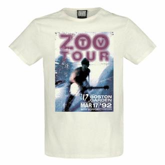 moška majica U2 - ZOO TV TOUR - VINTAGE WHITE - AMPLIFIED, AMPLIFIED, U2