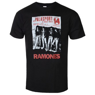 Moška majica RAMONES - PALASPORT POSTER - ČRNA - GOT TO HAVE IT, GOT TO HAVE IT, Ramones