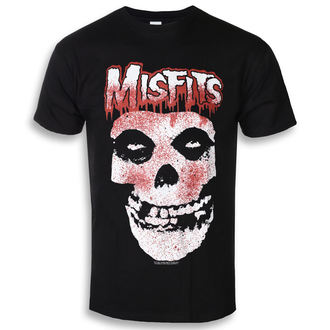 Moška metal majica Misfits - Blood Drip Skull - ROCK OFF, ROCK OFF, Misfits