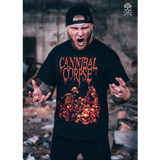 Moška metal majica Cannibal Corpse - PILE OF SKULLS - PLASTIC HEAD, PLASTIC HEAD, Cannibal Corpse