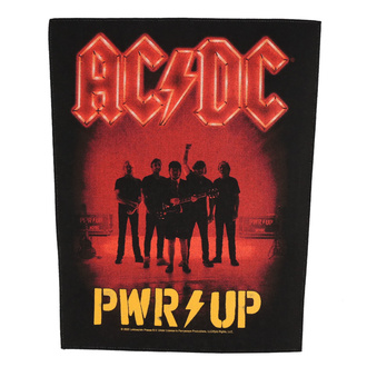 Veliki našitek AC / DC - POWER UP - Band - RAZAMATAZ, RAZAMATAZ, AC-DC