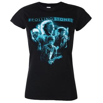 Ženska majica Rolling Stones - Band Glow - ROCK OFF, ROCK OFF, Rolling Stones