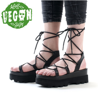 ženski čevlji (sandali) ALTERCORE - Sue - Črna, ALTERCORE