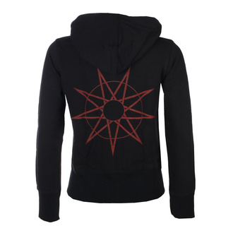 Ženski hoodie Slipknot - 9-Point Star Back - ROCK OFF, ROCK OFF, Slipknot