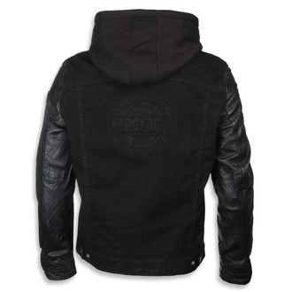 Usnjena jakna AC-DC - Črna - NNM