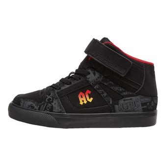 Otroški čevlji DC - AC / DC - TNT. - HIGH-TOP - ČRNA GRADIENT, DC, AC-DC