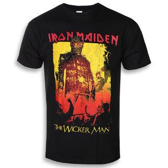 Moška metal majica Iron Maiden - The Wicker Man Fire - ROCK OFF, ROCK OFF, Iron Maiden