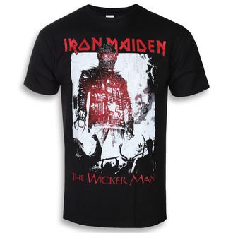 Moška metal majica Iron Maiden - The Wicker Man Smoke - ROCK OFF, ROCK OFF, Iron Maiden
