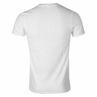 Moška majica CANNIBAL CORPSE - PILE OF SKULLS - BELA, PLASTIC HEAD, Cannibal Corpse