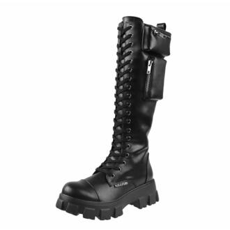 Ženski čevlji KILLSTAR - Aella Chunky - Črna, KILLSTAR