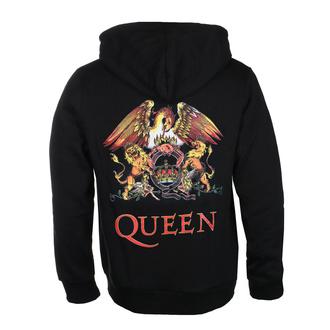 Moški hoodie Queen - Classic Crest Back Print - ROCK OFF, ROCK OFF, Queen