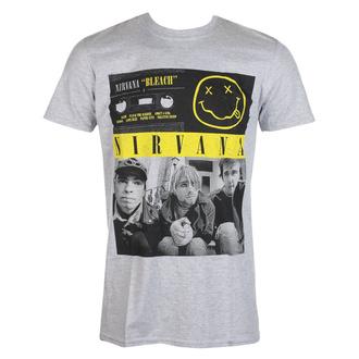 Moška majica Nirvana - Bleach Cassettes - ROCK OFF, ROCK OFF, Nirvana