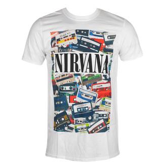 Moška majica Nirvana - Cassettes - ROCK OFF, ROCK OFF, Nirvana