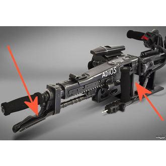 Dekoracija Tujec - Smartgun - HCG9358 - ZAŠČITA, NNM, Alien - Vetřelec
