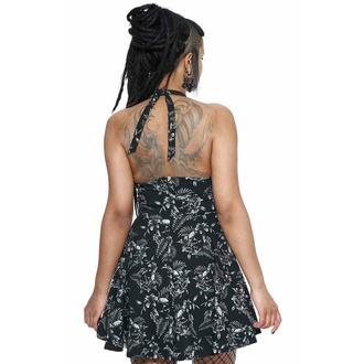 Ženska obleka KILLSTAR - Aloha From Hell Skater, KILLSTAR
