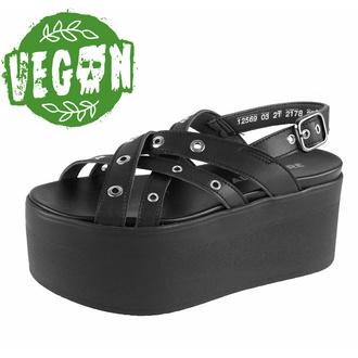 Ženski čevlji (sandali) ALTERCORE - Nitta Vegan - Črna, ALTERCORE