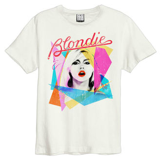 Moška metal majica BLONDIE - AHOY 80`S - VINTAGE Bela - AMPLIFIED, AMPLIFIED, Blondie