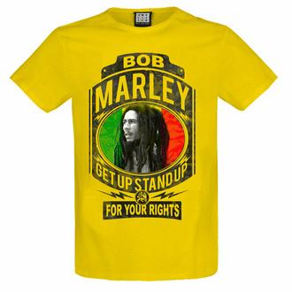 moška majica BOB MARLEY - FIGHT ZA YOUR PRAVICE - YEL NIZKA RAVEN - AMPLIFIED, AMPLIFIED, Bob Marley