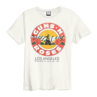 Moška majica Guns N' Roses - VINTAGE BULLET - VINTAGE WHITE - AMPLIFIED, AMPLIFIED, Guns N' Roses