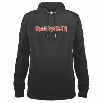 Moški hoodie pulover IRON MAIDEN - LOGO - AMPLIFIED, AMPLIFIED, Iron Maiden