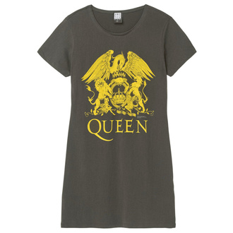 Ženska obleka QUEEN - YELLOW CREST - CHARCOAL - AMPLIFIED, AMPLIFIED, Queen