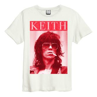 Moška majica ROLLING STONES - KOOL KEEF - VINTAGE WHITE - AMPLIFIED, AMPLIFIED, Rolling Stones