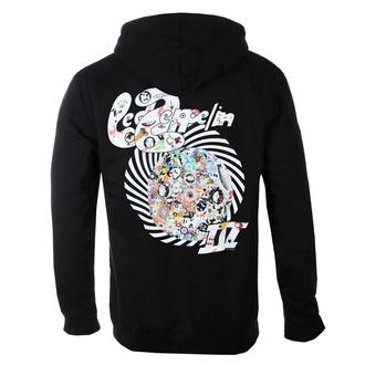 Moški hoodie Led Zeppelin - Swirl III - Črna, NNM, Led Zeppelin