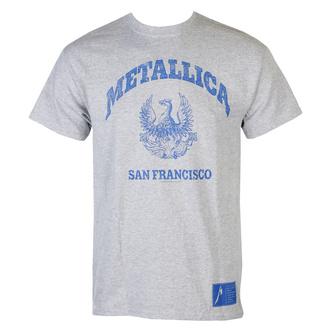 Moška majica Metallica - College Crest - Siva, NNM, Metallica