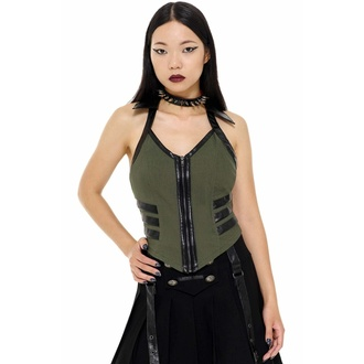 Ženski top KILLSTAR - Anita Ammo - KHAKI, KILLSTAR