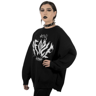 Ženski pulover KILLSTAR - Anti People Batwing Knit Sweater, KILLSTAR