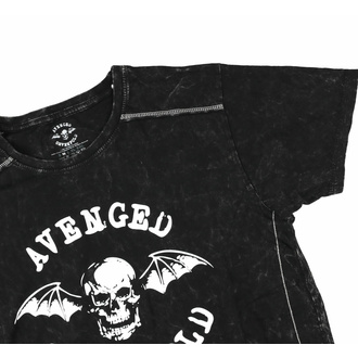Moška majica Avenged Sevenfold - Logo - Snow Wash - ROCK OFF, ROCK OFF, Avenged Sevenfold