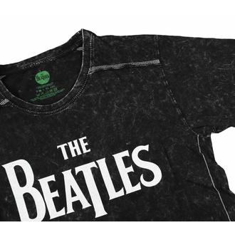 Moška majica Beatles - Drop T Logotip - Snow Wash - ROCK OFF, ROCK OFF, Beatles