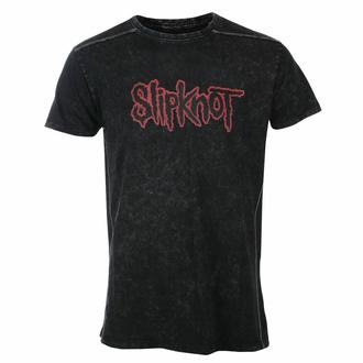 Moška majica Slipknot - Logo - Snow Wash - ROCK OFF, ROCK OFF, Slipknot