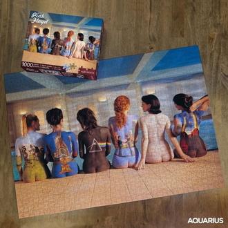 sestavljanka jigsaw puzzle Pink Floyd - Back Art, NNM, Pink Floyd