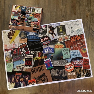 sestavljanka jigsaw puzzle AC / DC - ALBUM, NNM, AC-DC