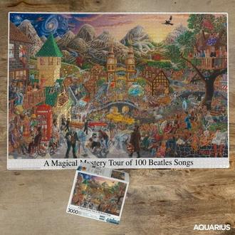 sestavljanka jigsaw puzzle The Beatles - Magical Mystery Tour, NNM, Beatles