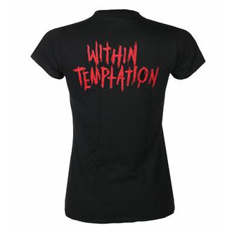 Ženska majica Within Temptation - Purge Outline - Red Face - ROCK OFF, ROCK OFF, Within Temptation