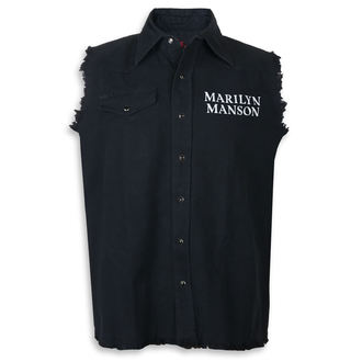 Vest (telovnik) Marilyn Manson - Cross Logo - RAZAMATAZ, RAZAMATAZ, Marilyn Manson