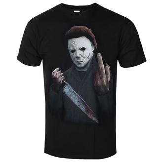 Moška filmska majica Halloween - MIDDLE FINGER - PLASTIC HEAD, PLASTIC HEAD, Halloween