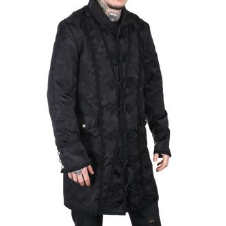 Moški plašč Aderlass - Klasični Plašč Črna Brokada, ADERLASS