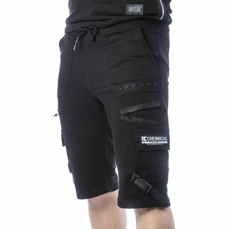 Moške kratke hlače CHEMICAL BLACK - ASCELIN - ČRNA, CHEMICAL BLACK