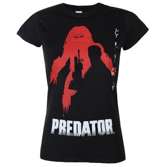 Ženska majica Predator - Poster - Črna - HYBRIS, HYBRIS, Predator