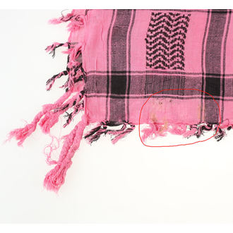 maramica ARAFAT - palestina - lobanja 29 - roza - ZAŠČITA