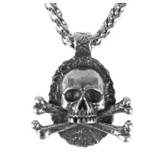 Ogrlica z obeskom Skull, FALON