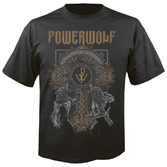 Moška metal majica Powerwolf - Wolf cross - NUCLEAR BLAST, NUCLEAR BLAST, Powerwolf